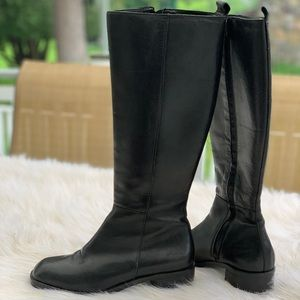 Nine West genuine leather boots size 8M